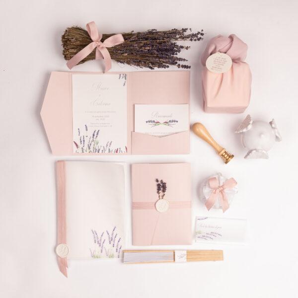 wedding set rosa