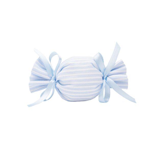 Fiocco a strisce azzurro e bianco